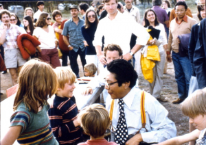 Trungpa with children